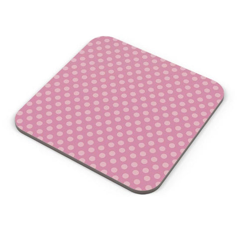Pink,Dots,Evergreen,Pretty,Abstract Coaster Online India