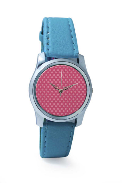 Women Wrist Watch India | Pink Dots Wrist Watch Online India