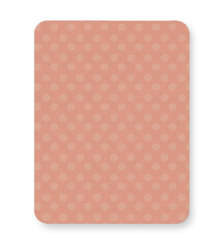 Peach,Dots,Evergreen,Pretty,Abstract Mousepad Online India