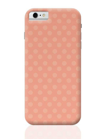 Peach,Dots,Evergreen,Pretty,Abstract iPhone 6 / 6S Covers Cases