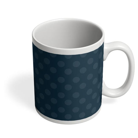 Blue,Dots,Evergreen,Pretty,Abstract Coffee Mug Online India