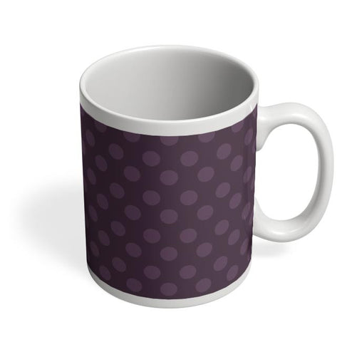 Purple,Dots,Evergreen,Pretty,Abstract Coffee Mug Online India