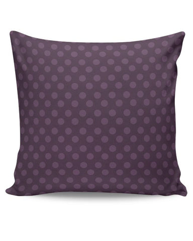 Purple,Dots,Evergreen,Pretty,Abstract Cushion Cover Online India