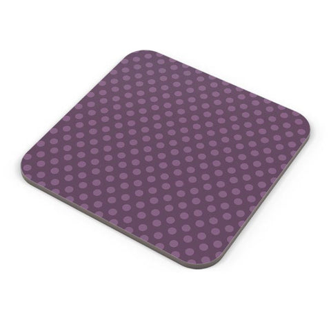 Purple,Dots,Evergreen,Pretty,Abstract Coaster Online India