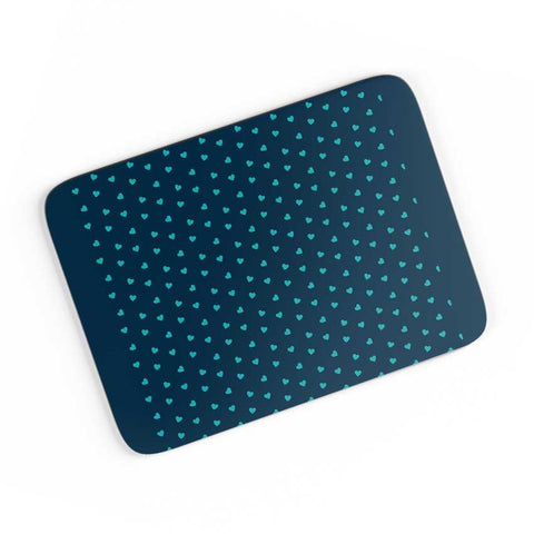 Blue Hearts A4 Mousepad Online India