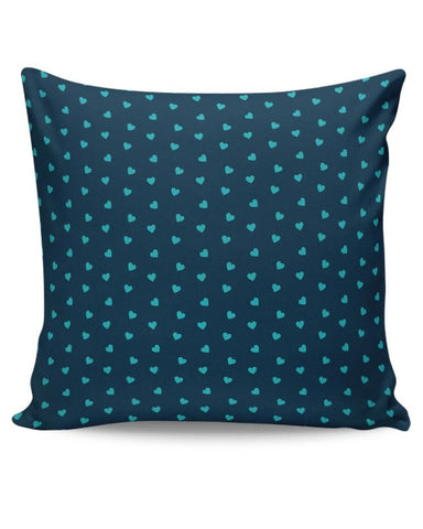 Blue,Hearts,Love,Abstract,Evergreen,Small Cushion Cover Online India