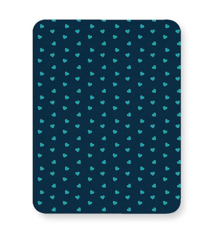 Blue,Hearts,Love,Abstract,Evergreen,Small Mousepad Online India