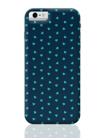 Blue,Hearts,Love,Abstract,Evergreen,Small iPhone 6 / 6S Covers Cases
