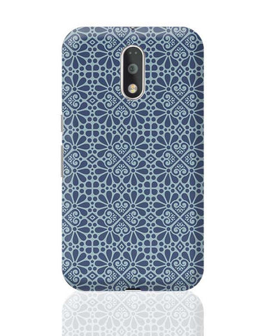 Geometrical Floral Pattern Moto G4 Plus Online India