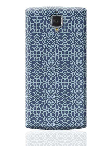 Geometrical Floral Pattern OnePlus 3 Covers Cases Online India