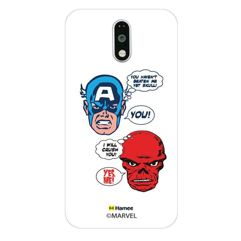 Captain America & Skukk Moto G4 Plus/G4 Case Cover