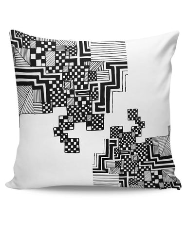Back to Square 1 Cushion Cover Online India