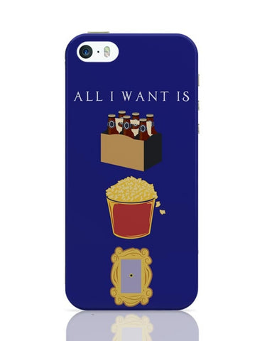 All I Want iPhone 5/5S Covers Cases Online India