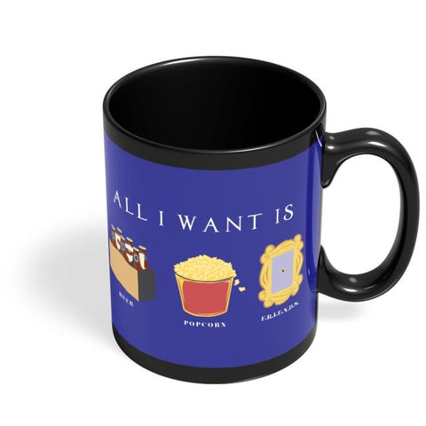All I Want Black Coffee Mug Online India