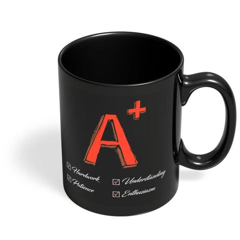 A Plus Black Coffee Mug Online India