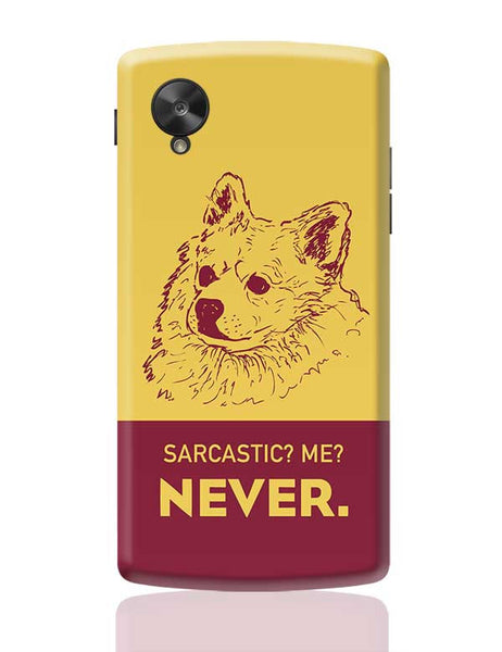 Sarcastic SOB1 Google Nexus 5 Covers Cases Online India