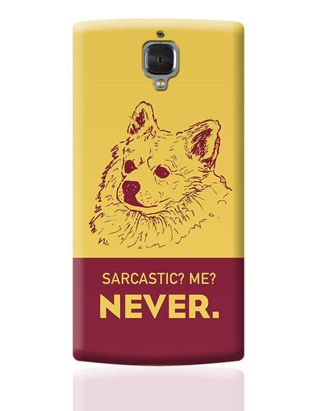 Sarcastic SOB1 OnePlus 3 Covers Cases Online India