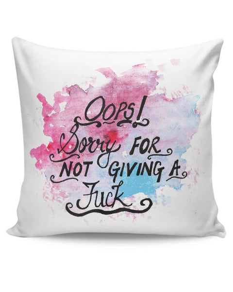 Oops! Cushion Cover Online India