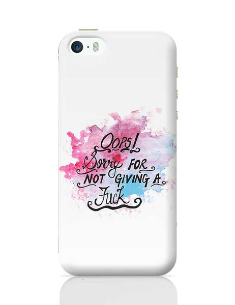 Oops! iPhone 5/5S Covers Cases Online India
