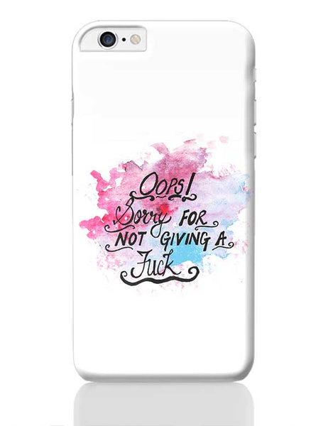 Oops! iPhone 6 Plus / 6S Plus Covers Cases Online India