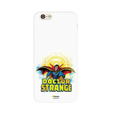 Dr Strange Badge White iPhone 6 Plus / 6S Plus Cover Case