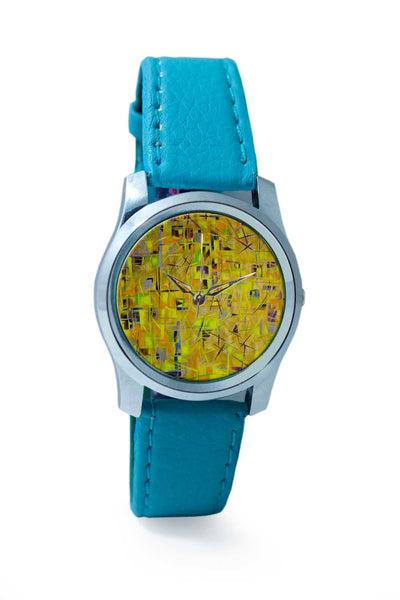 Women Wrist Watch India | Spiral Sunrise over Cyber City Wrist Watch Online India