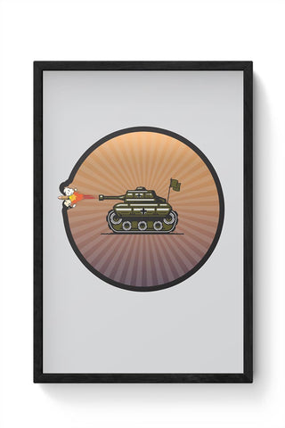 Tank Framed Poster Online India