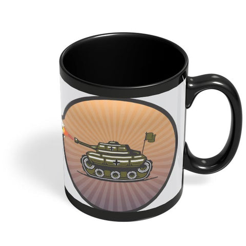 Tank Black Coffee Mug Online India
