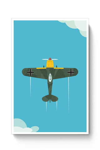 Luftwaffe Plane Poster Online India