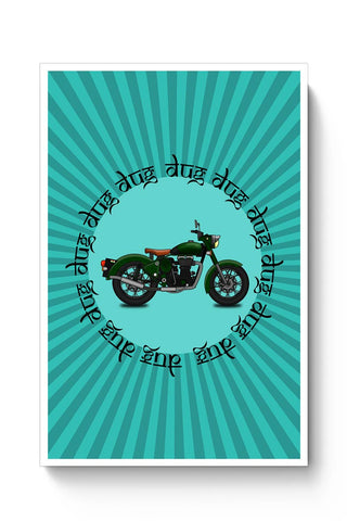 royal enfield bike Poster Online India