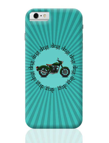 royal enfield bike iPhone 6 / 6S Covers Cases