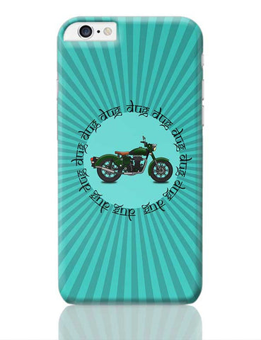 royal enfield bike iPhone 6 Plus / 6S Plus Covers Cases Online India
