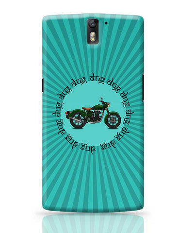 royal enfield bike OnePlus One Covers Cases Online India