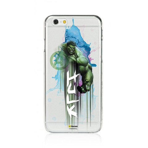 Hulk Watercolor Clear iPhone 6 Plus / 6S Plus Cover Case