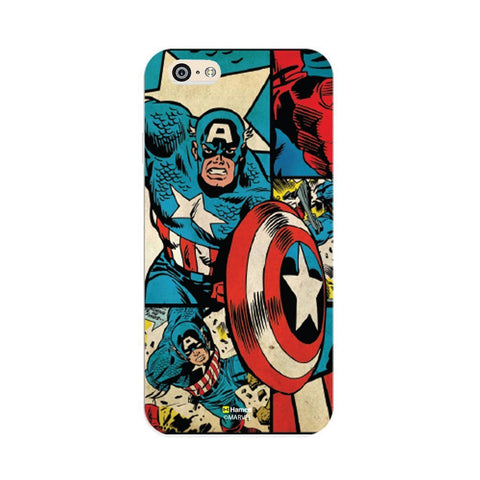 Captain America Comic  iPhone 6 Plus / 6S Plus Cover Case