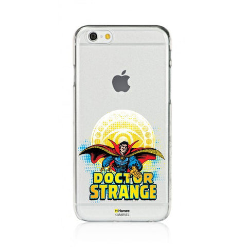 Dr Strange Badge Clear iPhone 6 Plus / 6S Plus Cover Case