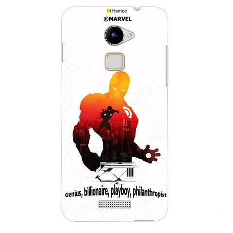 Iron Man Shadow White Coolpad Note 3 Lite Case Cover