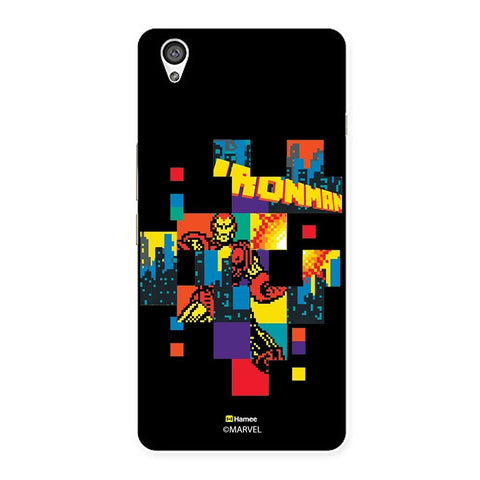 Black Ironman Blocks  Oneplus X Case Cover