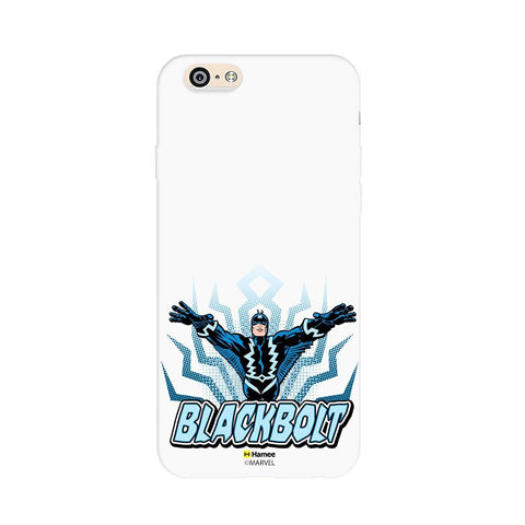 Black Bolt White iPhone 6S/6 Case Cover