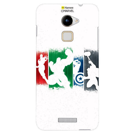 Inverted Avengers White Coolpad Note 3 Lite Case Cover