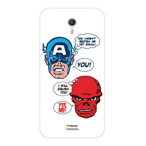 Captain America Conversation Lenovo Zuk Z1 Case Cover