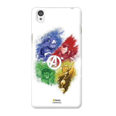 Avengers White Oneplus X Case Cover