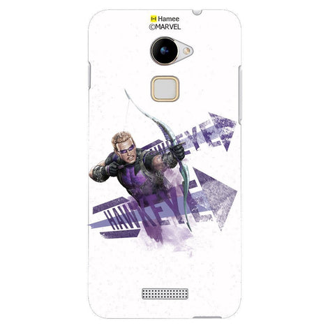 Hawkeye White Coolpad Note 3 Lite Case Cover