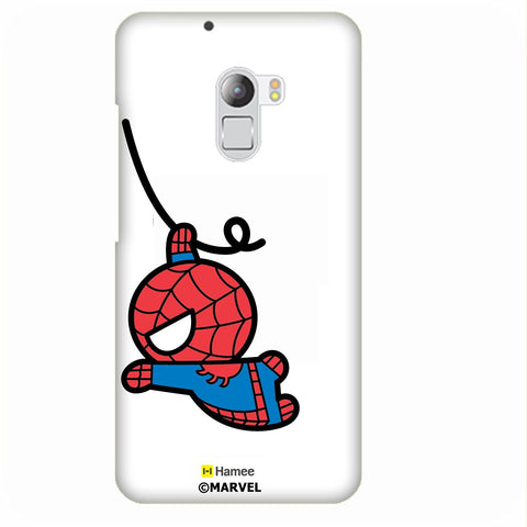 Cute Swinging Spiderman White Lenovo K4 Note/Vibe K4 Note Case Cover