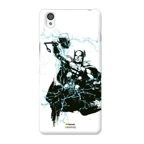 Thor Sketch White Oneplus X Case Cover