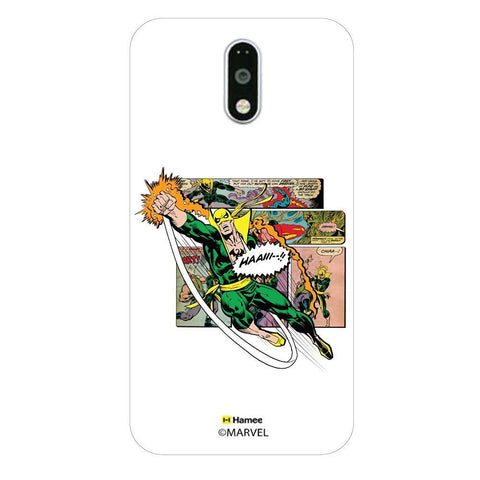 Iron Fist Comic  Moto G4 Plus Case Cover