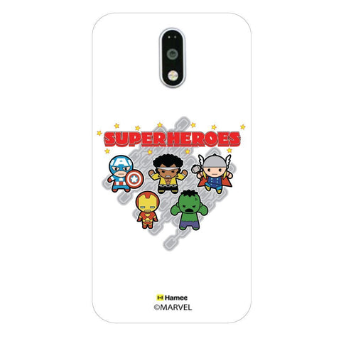 Cute Avengers Chain  Moto G4 Plus Case Cover