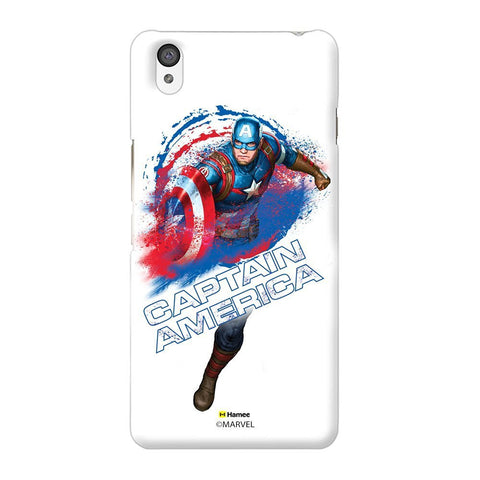 Captain America White Oneplus X Case Cover