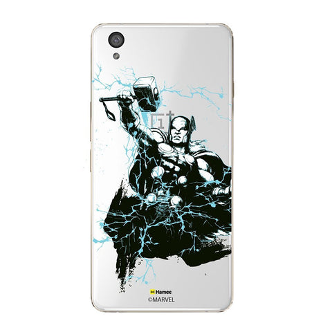 Thor Sketch Clear Oneplus X Case Cover