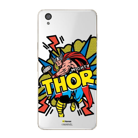 Thor Pop Clear Oneplus X Case Cover